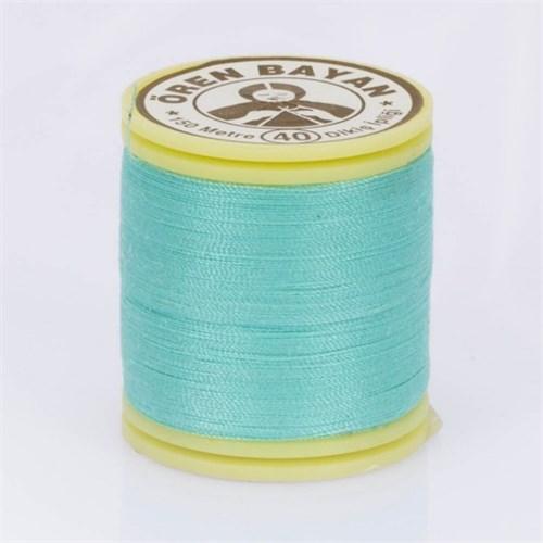 Ören Bayan Turkuaz Mavi Polyester Dikiş İpliği - 770