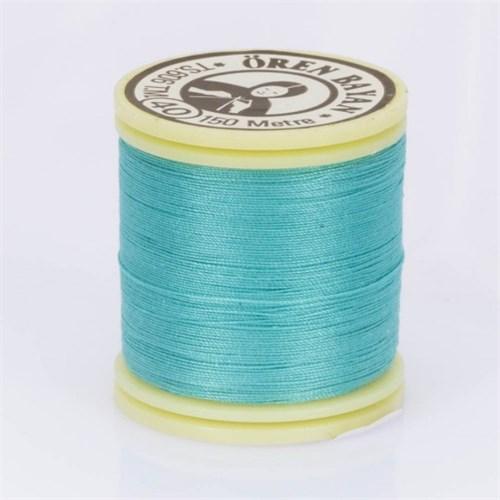 Ören Bayan Turkuaz Mavi Polyester Dikiş İpliği - 777