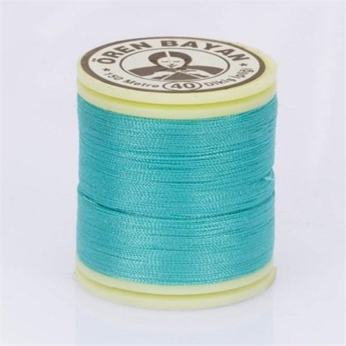 Ören Bayan Turkuaz Mavi Polyester Dikiş İpliği - 778