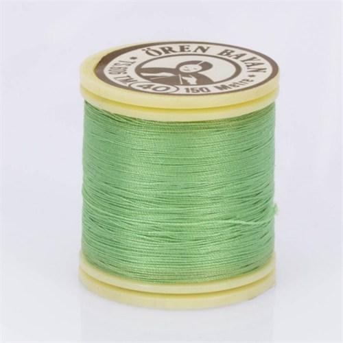 Ören Bayan Fıstık Yeşili Polyester Dikiş İpliği - 713