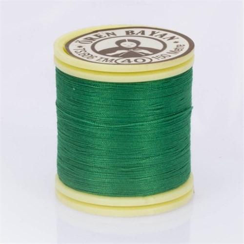 Ören Bayan Koyu Yeşil Polyester Dikiş İpliği - 764
