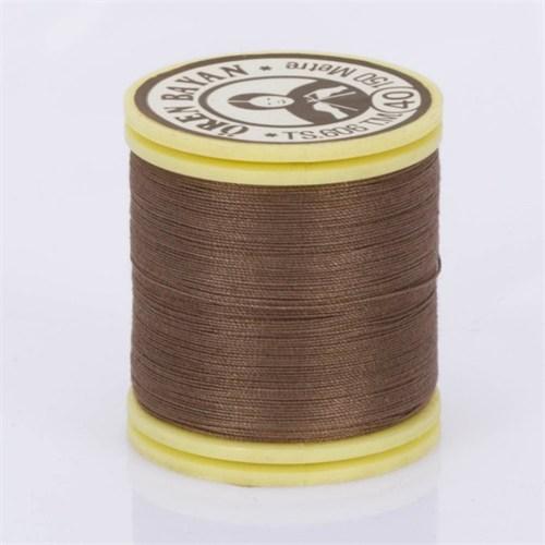 Ören Bayan Kahverengi Polyester Dikiş İpliği - 78