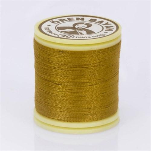 Ören Bayan Koyu Sarı Polyester Dikiş İpliği - 549
