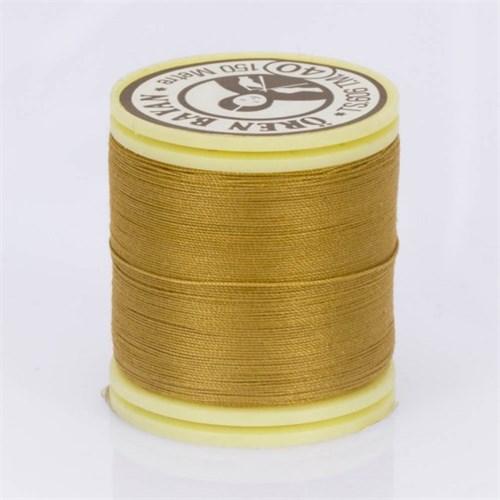 Ören Bayan Koyu Sarı Polyester Dikiş İpliği - 567