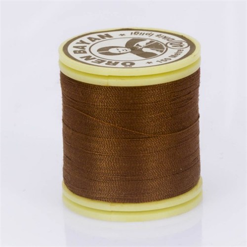 Ören Bayan Koyu Kahverengi Polyester Dikiş İpliği - 326