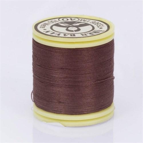 Ören Bayan Koyu Kahverengi Polyester Dikiş İpliği - 332