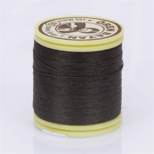 Ören Bayan Kahverengi Polyester Dikiş İpliği - 17