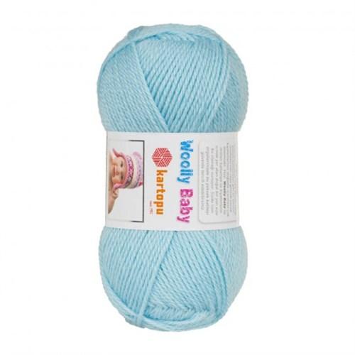 Kartopu Woolly Baby Mavi Bebek Yünü - K502
