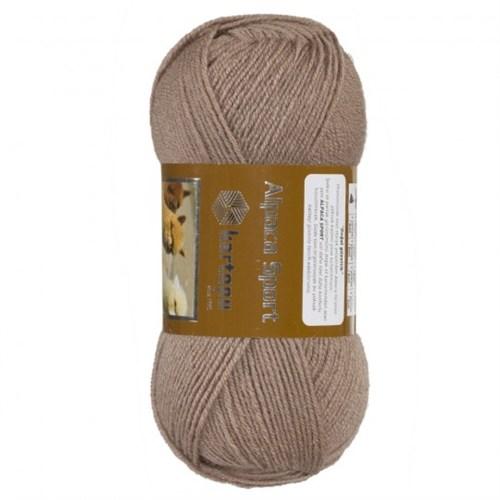 Kartopu Alpaca Sport Kahverengi El Örgü İpi - K899
