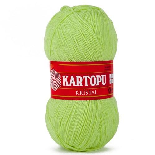 Kartopu Kristal Açık Yeşil El Örgü İpi - K439