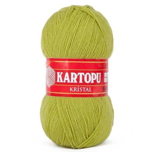 Kartopu Kristal Açık Yeşil El Örgü İpi - K442