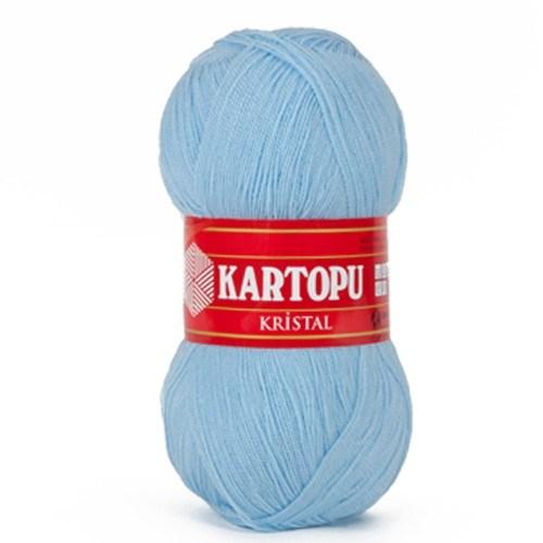 Kartopu Kristal Açık Mavi El Örgü İpi - K540