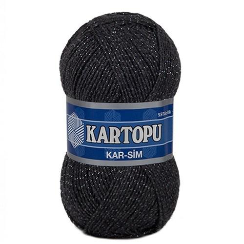 Kartopu Kar-Sim Füme El Örgü İpi - K1003