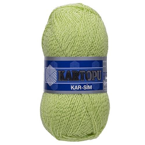 Kartopu Kar-Sim Yeşil El Örgü İpi - K439
