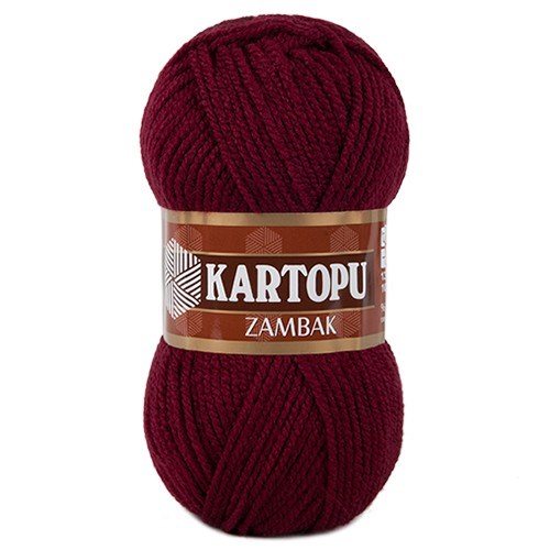 Kartopu Zambak Kırmızı El Örgü İpi - K110