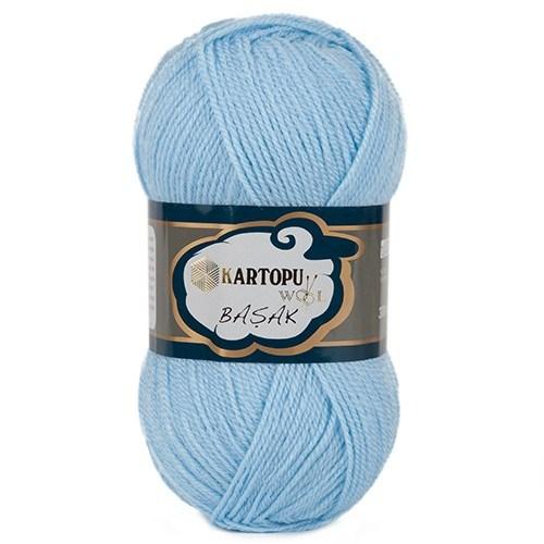 Kartopu Başak Açık Mavi El Örgü İpi - K540
