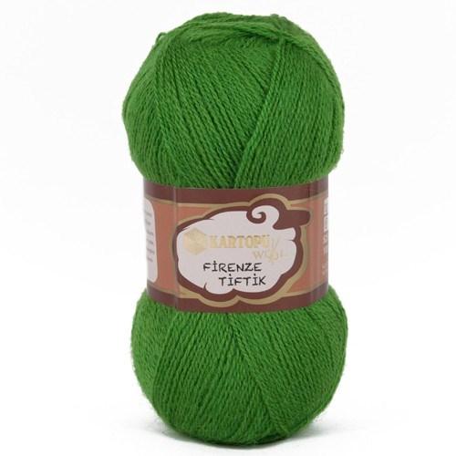 Kartopu Firenze Tiftik Yeşil El Örgü İpi - K392