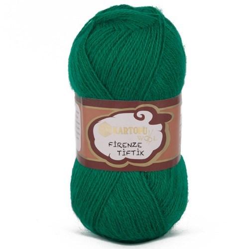 Kartopu Firenze Tiftik Yeşil El Örgü İpi - K451