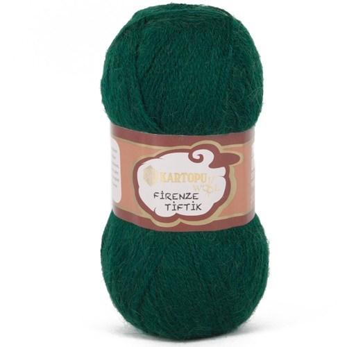 Kartopu Firenze Tiftik Yeşil El Örgü İpi - K480