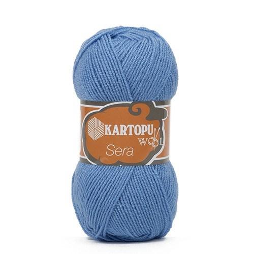Kartopu Sera Açık Mavi El Örgü İpi - K534