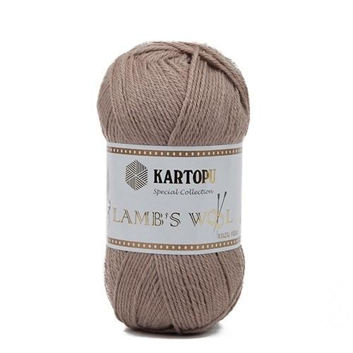 Kartopu Lamb's Wool Bej El Örgü İpi - K899