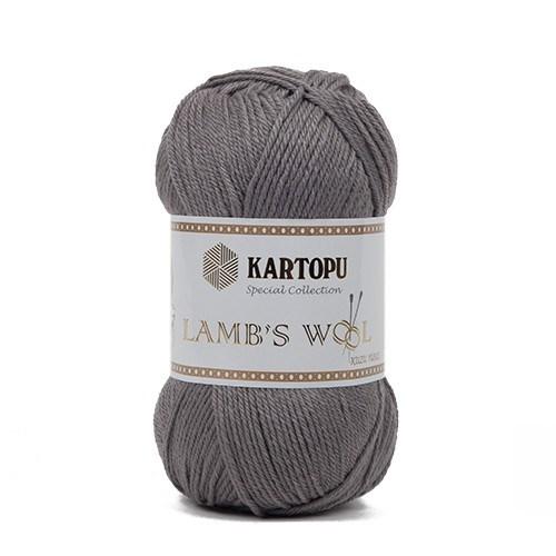 Kartopu Lamb's Wool Gri El Örgü İpi - K928