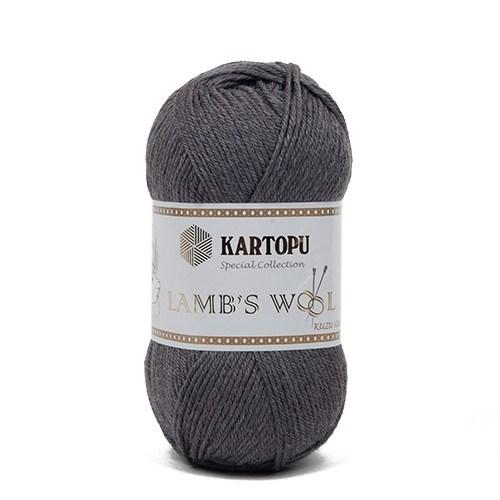 Kartopu Lamb's Wool Gri El Örgü İpi - K1003