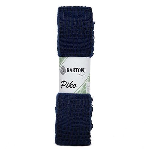 Kartopu Piko Mavi El Örgü İpi - K632