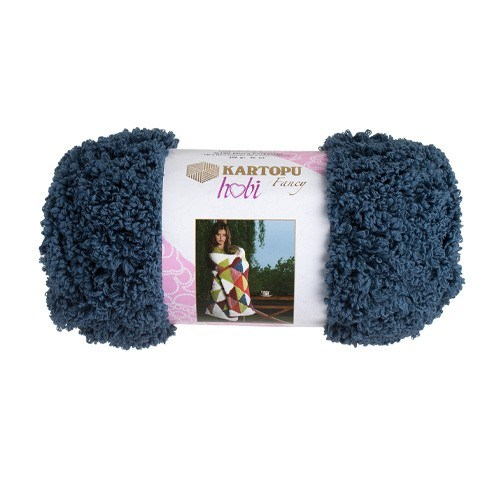 Kartopu Hobi Mavi El Örgü İpi - Kf8012