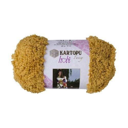 Kartopu Hobi Sarı El Örgü İpi - Kf8005