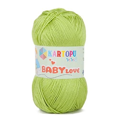 Kartopu Baby Love Açık Yeşil Bebek Yünü - K369