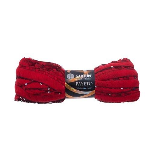 Kartopu Payeto Kırmızı El Örgü İpi - K150