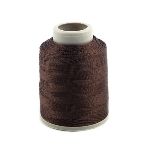 Kartopu Kahverengi Polyester Dantel İpliği - Kp896