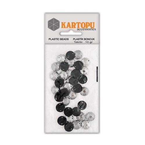 Kartopu Gümüş Rengi Leopar Dikilebilir Boncuk - Ldg1