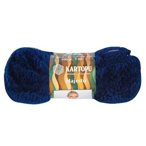 Kartopu Majesto Lacivert El Örgü İpi - K632