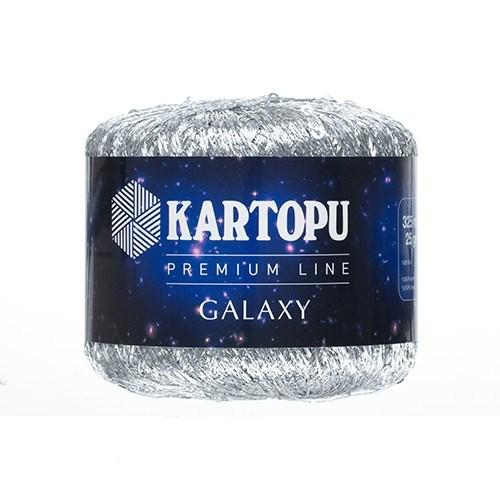 Kartopu Galaxy Gümüş El Örgü İpi - Kf350