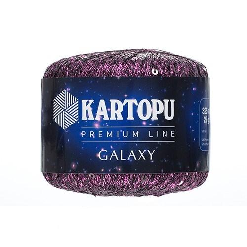 Kartopu Galaxy Mor El Örgü İpi - Kf353
