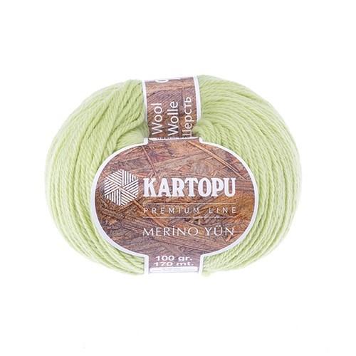 Kartopu Merino Yeşil El Örgü İpi - K366
