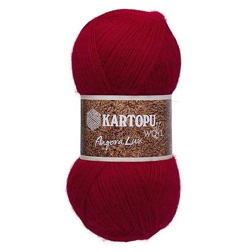 Kartopu Angora Lux Kırmızı El Örgü İpi - K112