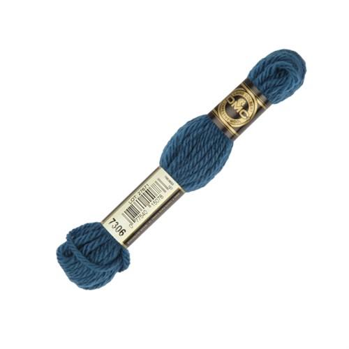 Dmc Yün Çile 8 M Mavi Nakış İpliği - 7306