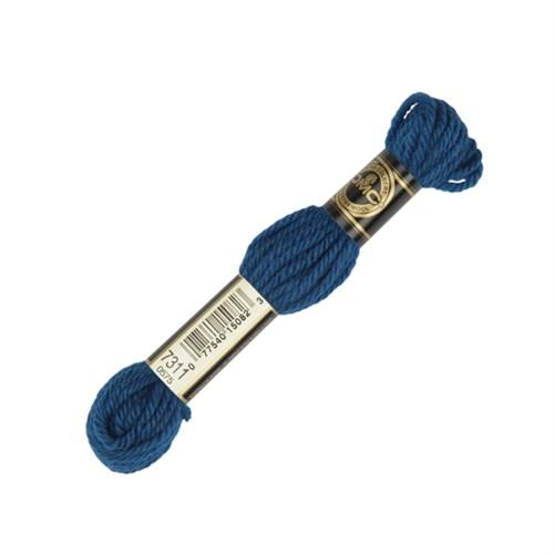 Dmc Yün Çile 8 M Mavi Nakış İpliği - 7311
