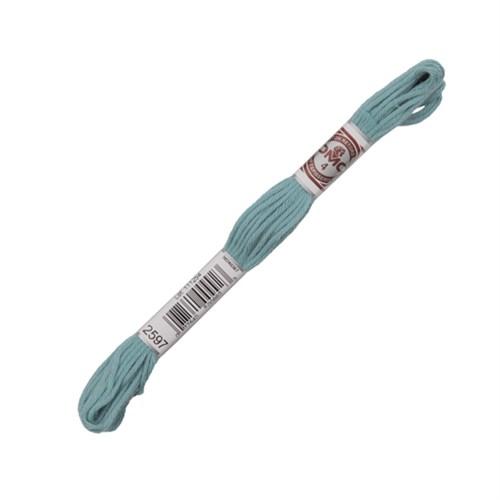 Dmc Koton İplik Çile 10 M Mavi Nakış İpliği - 2597