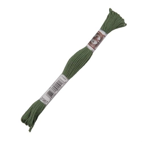 Dmc Koton İplik Çile 10 M Yeşil Nakış İpliği - 2987