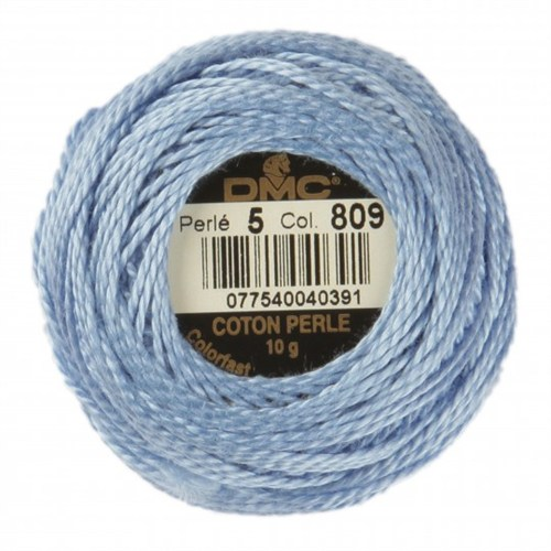 Dmc Koton Perle Yumak 10 Gr Mavi No:5 - 809