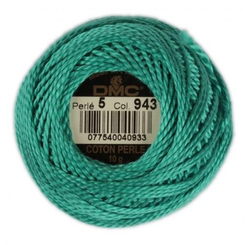Dmc Koton Perle Yumak 10 Gr Mavi No:5 Nakış İpliği - 943
