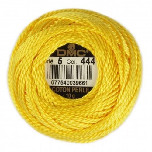 Dmc Koton Perle Yumak 10 Gr Sarı No:5 - 444