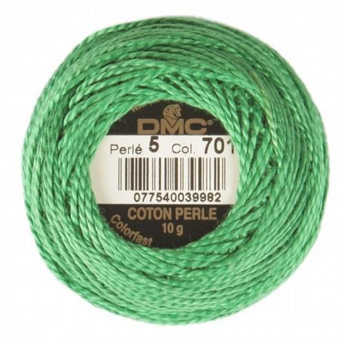 Dmc Koton Perle Yumak 10 Gr Yeşil No:5 - 701