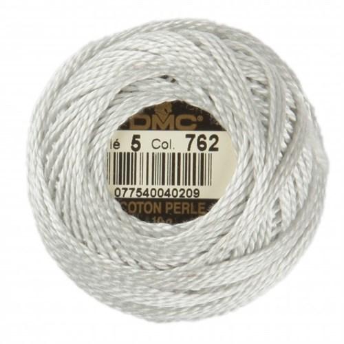 Dmc Koton Perle Yumak 10 Gr Beyaz No:5 - 762