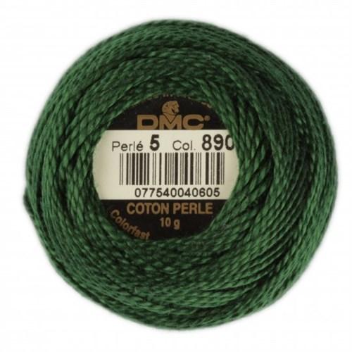 Dmc Koton Perle Yumak 10 Gr Yeşil No:5 - 890