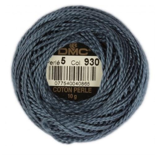 Dmc Koton Perle Yumak 10 Gr Mavi No:5 - 930